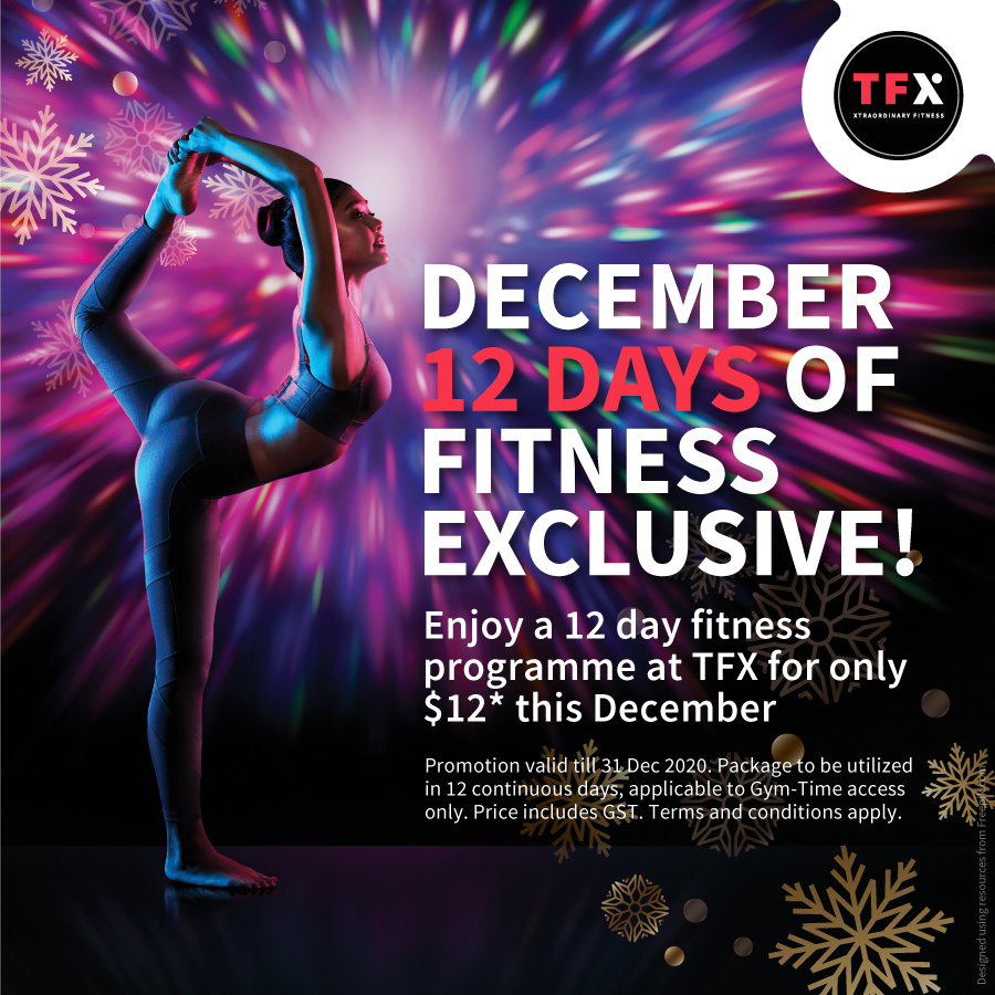 12 Days of Fitness Exclusive